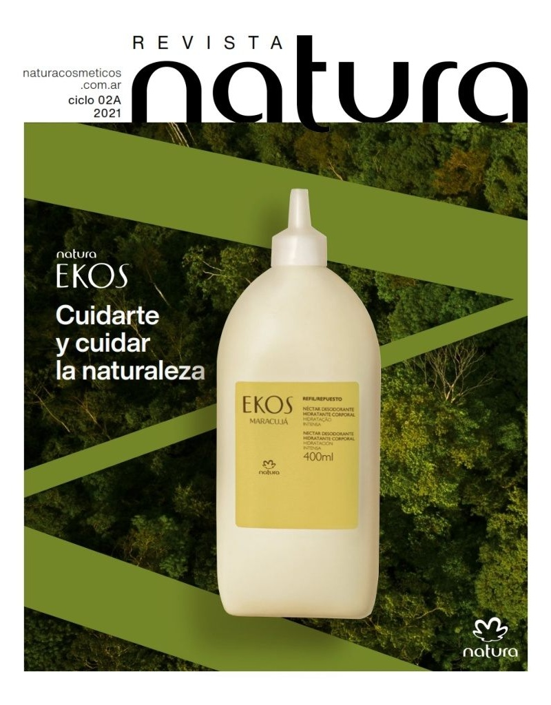 Catálogo Natura Argentina Ciclo 01, 02 2021 y Anteriores