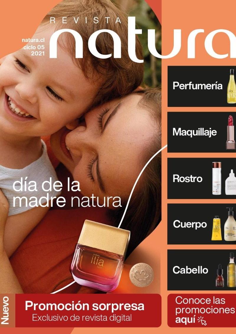 Catálogo Natura Chile Ciclo 3AB, 4, 5 2021 y Anteriores