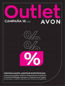 Avon Outlet Campaña 16 2021 Colombia