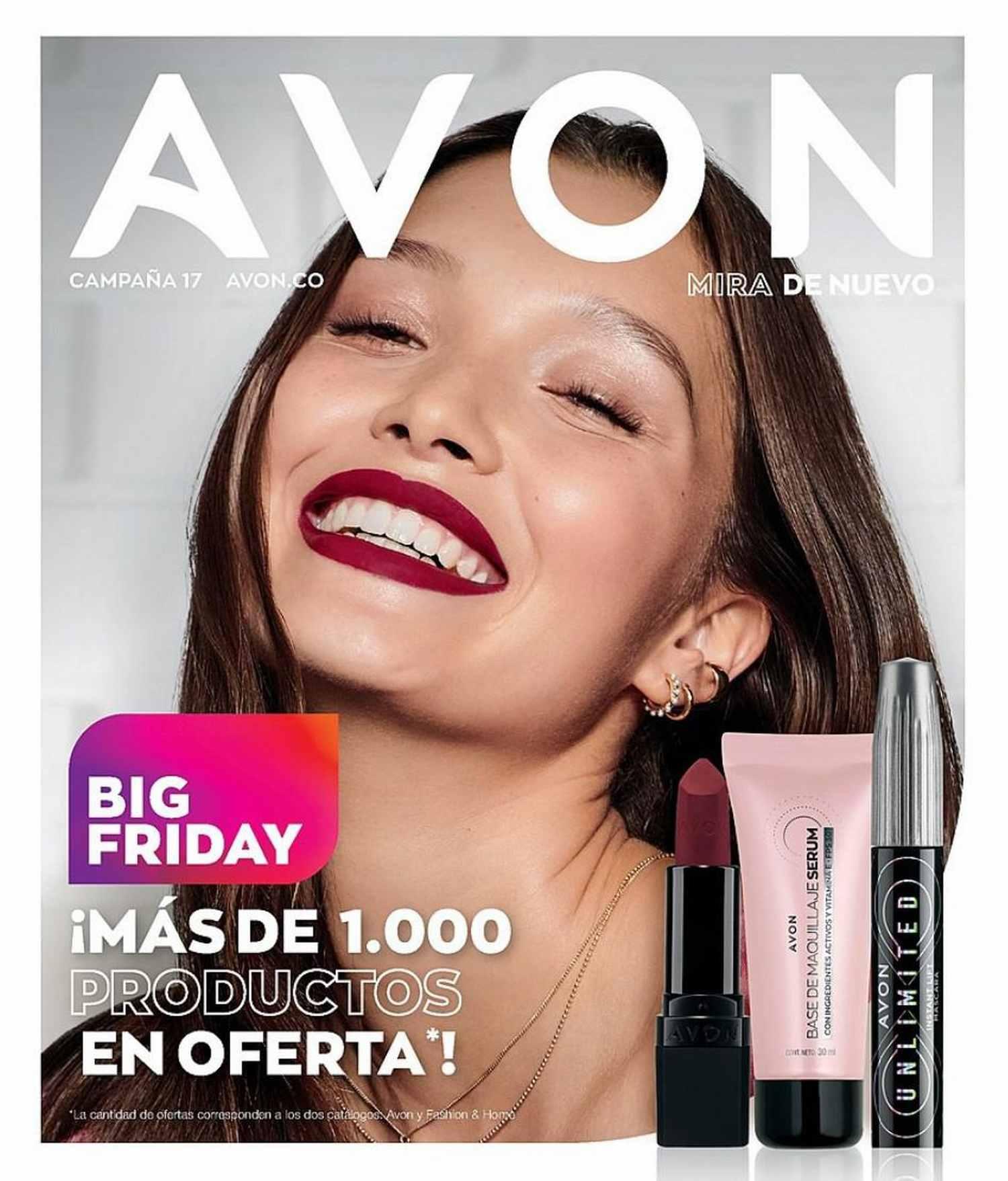 Catálogo Avon Campaña 17 2021 Colombia