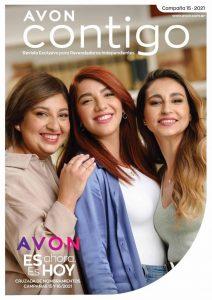 Catálogo Avon Contigo Campaña 15 Argentina 2021