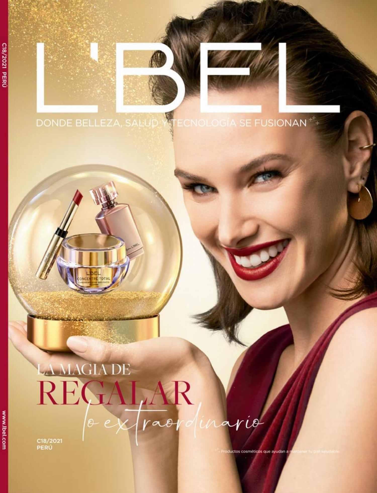 Catálogo L'Bel Campaña 18 2021 Perú