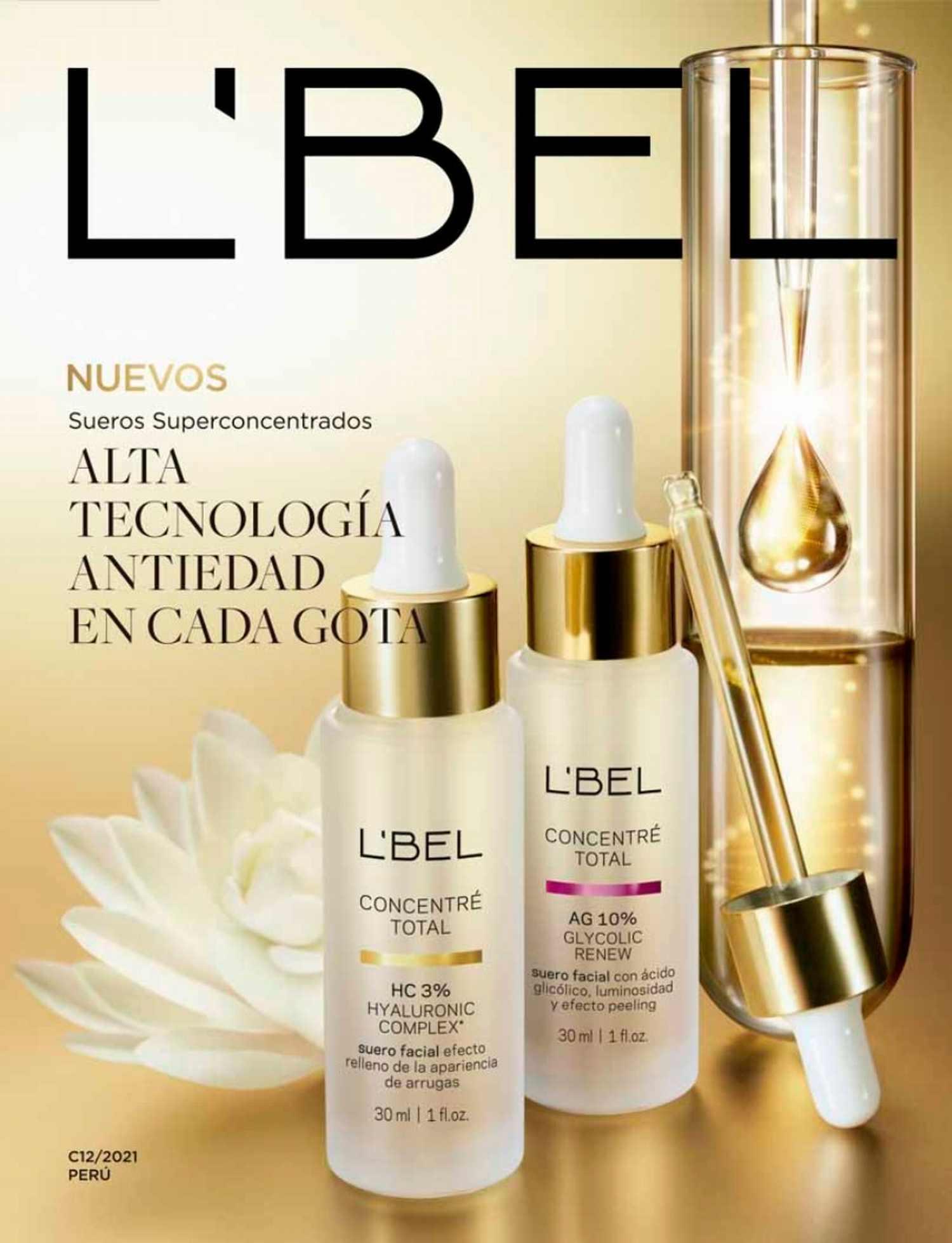 Catálogo L'bel Campaña 12 2021 Perú