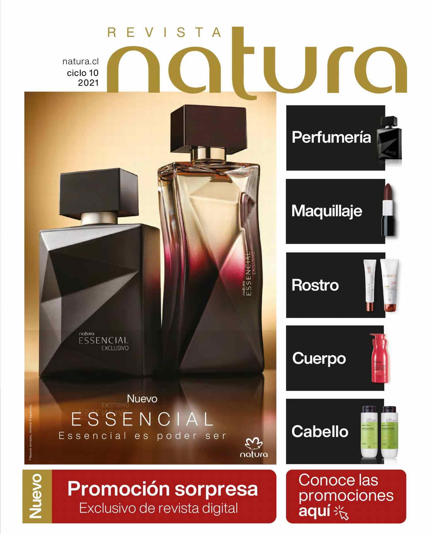 Catalogo Natura Ciclo 10 2021 Chile