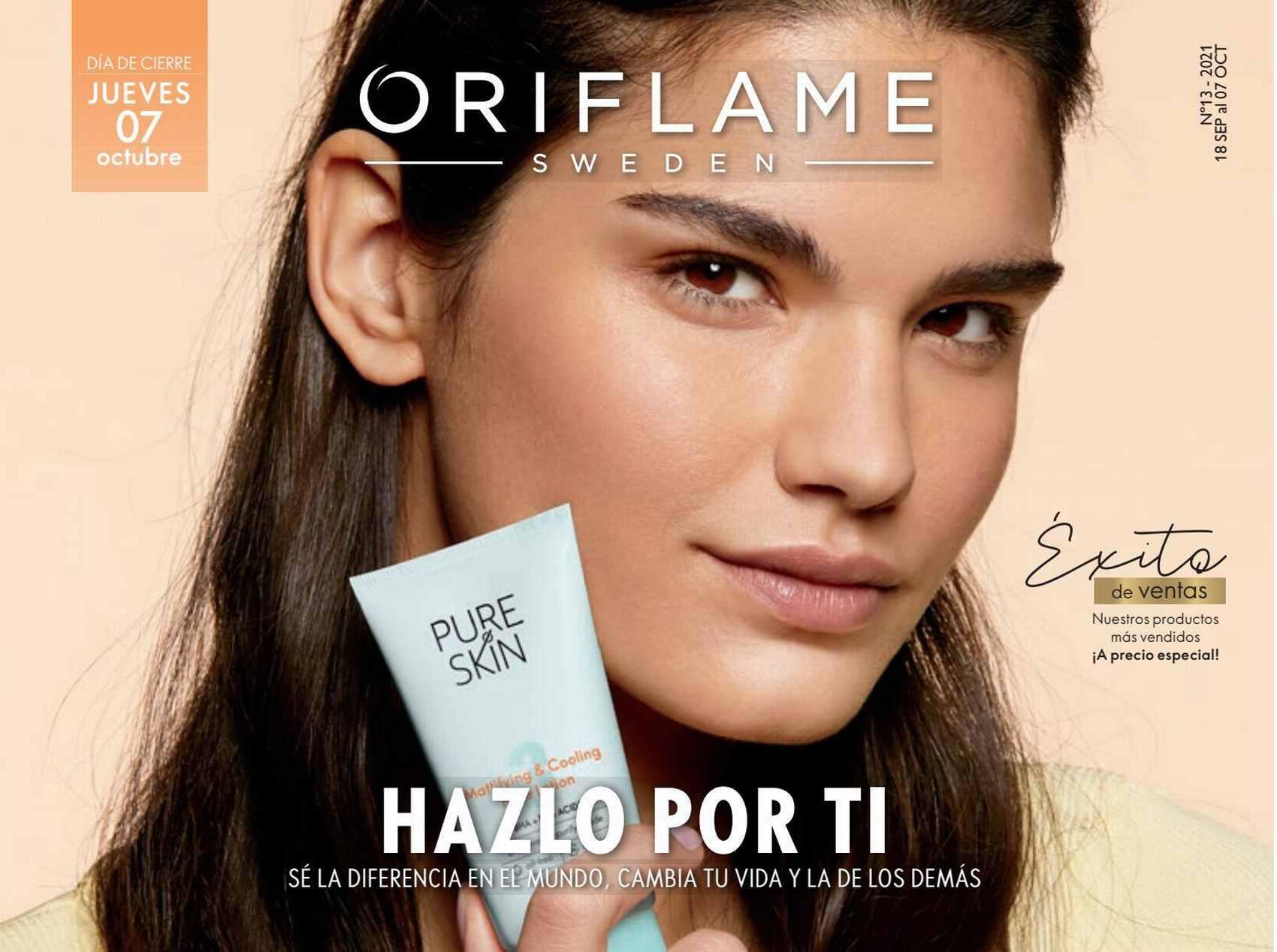 Catalogo Oriflame Campaña 13 2021 Perú