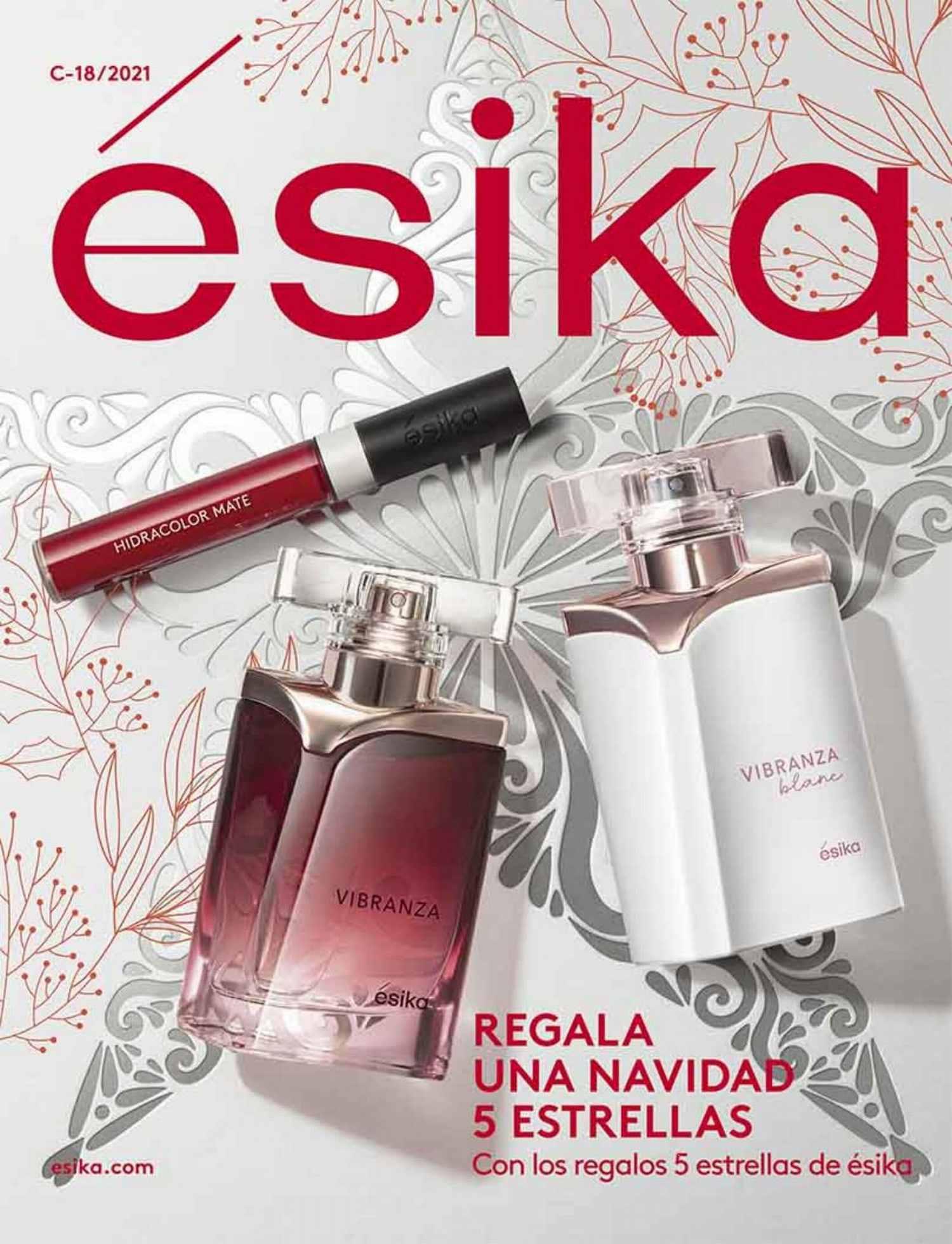 Catálogo Esika Campaña 18 2021 México