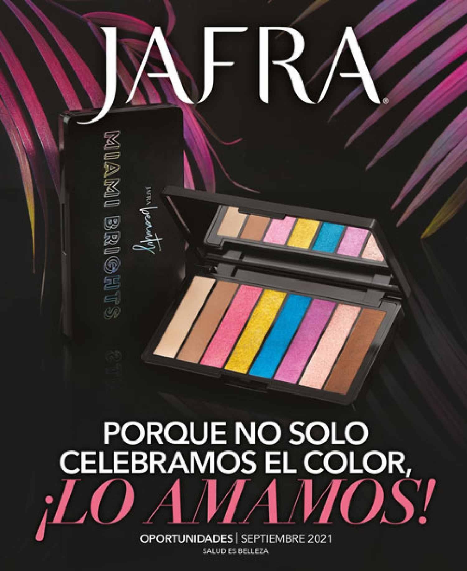Catalogo Jafra Septiembre 2021 México