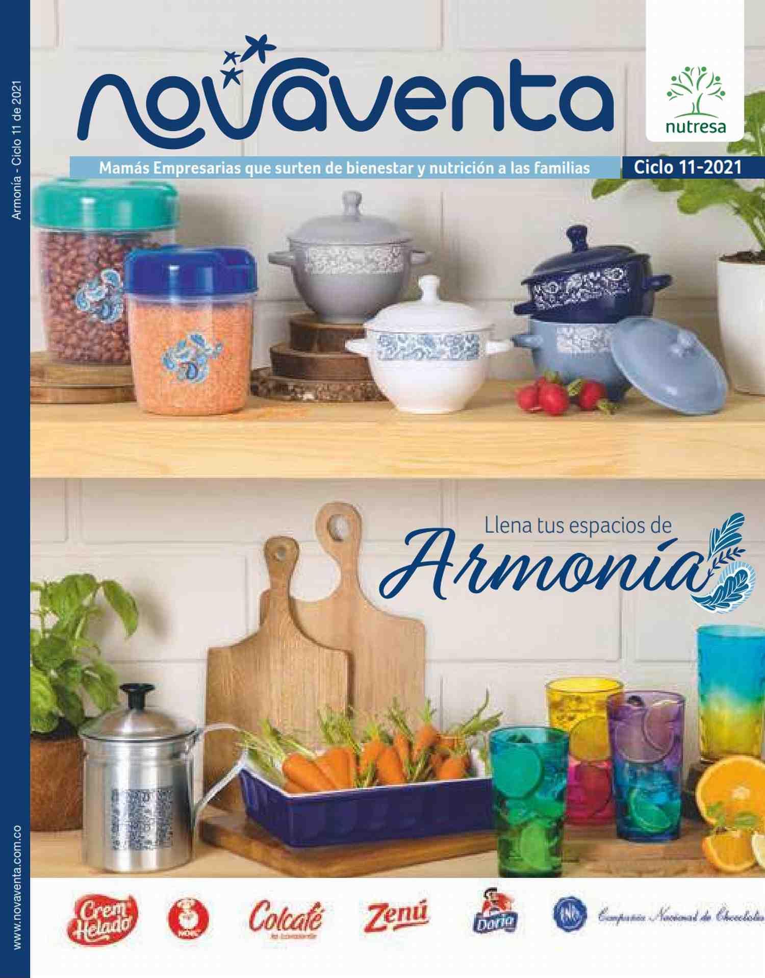 Catalogo Novaventa Campaña 11 2021 Colombia