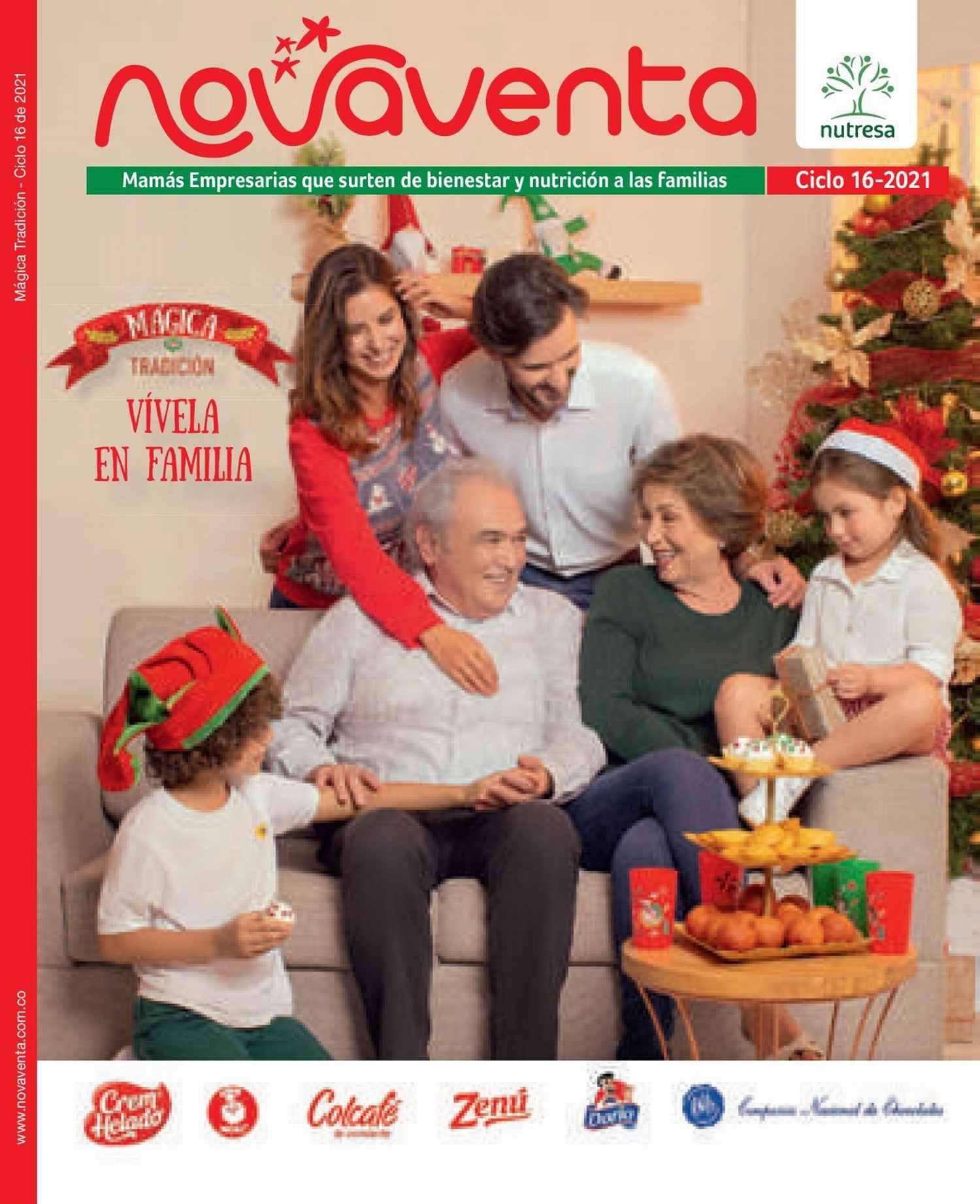 Catálogo Novaventa Ciclo 16 2021 Colombia