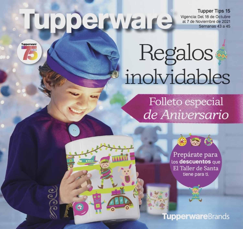 Catálogo Tupperware Tips 15 2021 México