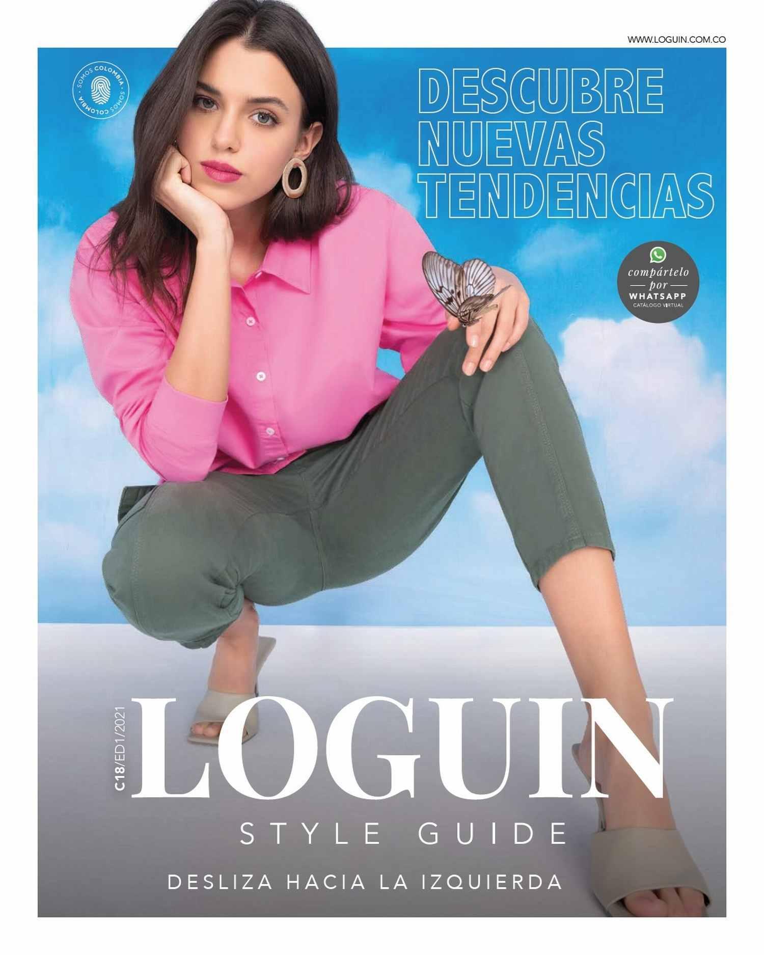 Catálogo Loguin Campaña 18 Ed1 2021 Colombia