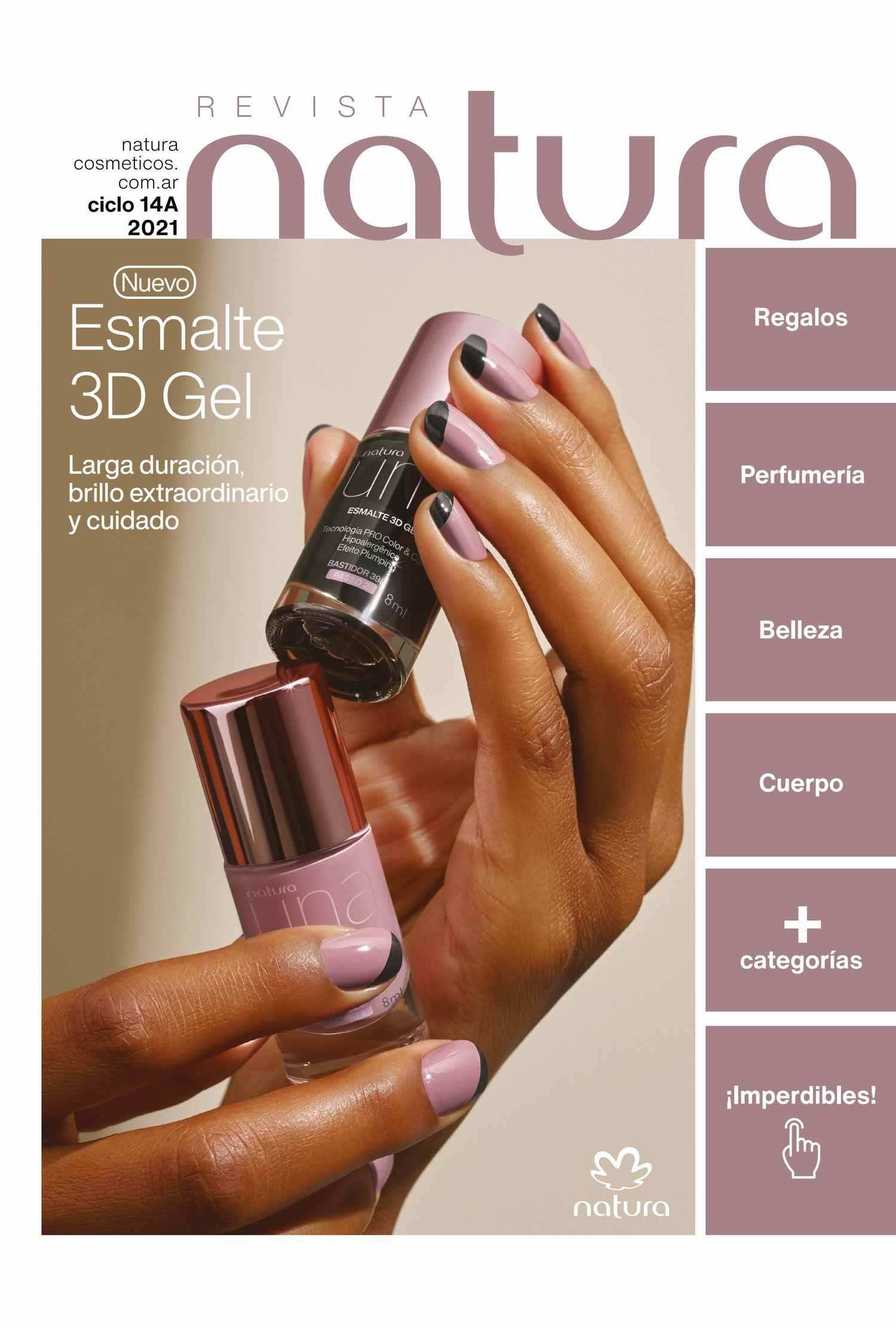 Catálogo Natura Ciclo 14A 2021 Argentina
